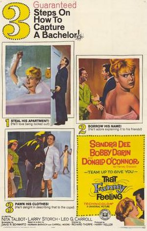 That Funny Feeling - Image: Film Poster for That Funny Feeling