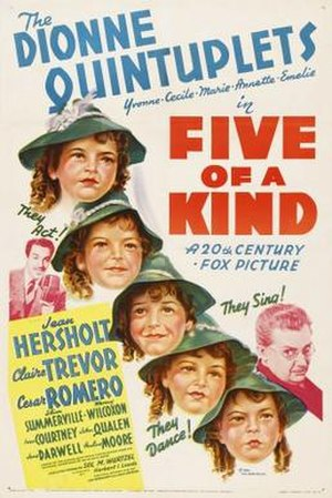 Five of a Kind - Theatrical release poster