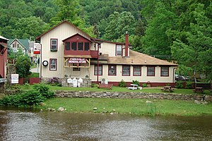Forksville, Pennsylvania - Forksville General Store near Worlds End State Park.