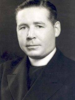Francis P. Smith Catholic priest and university president