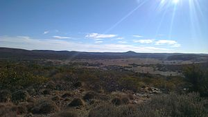 Gawler Ranges - Conical Hill Track in the Gawler Range