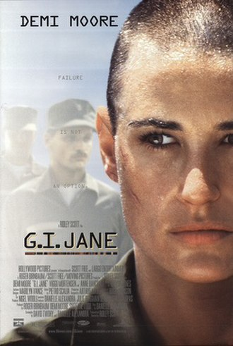 G.I. Jane - Theatrical release poster