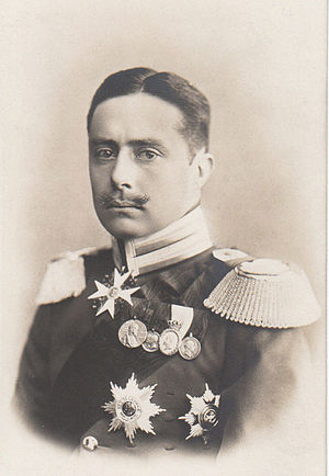 William Ernest, Grand Duke of Saxe-Weimar-Eisenach - Image: Grand Duke WILHELM