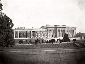 The Grange, Northington - Grange Park photographed in 1870