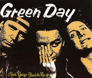 Nice Guys Finish Last - Image: Green Day Nice Guys Finish Last cover