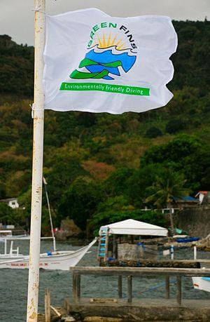 Green Fins - Green Fins flag