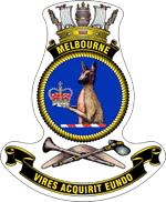 HMAS melbourne 2 crest