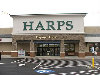 Harps Food Stores - Front of Harps Store in Jonesboro, Arkansas