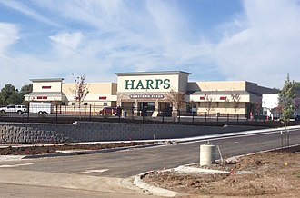 Harps Food Stores - Storefront of Harps Food Store in De Soto, Kansas
