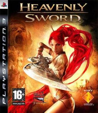 Heavenly Sword - European box art showing protagonist Nariko.