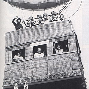 Don Cameron (balloonist) - Don Cameron in the 1970s (Top Right)