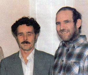 Photograph of Lucas and Toole together.
