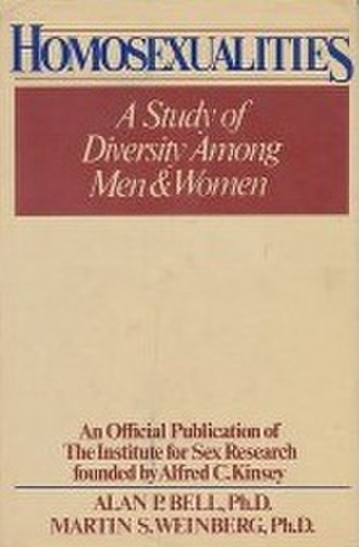 Homosexualities: A Study of Diversity Among Men and Women - Cover of the first edition
