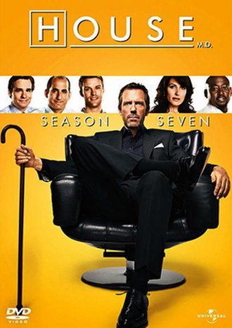 House (season 7) - DVD cover art