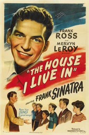 The House I Live In (1945 film) - Theatrical release poster