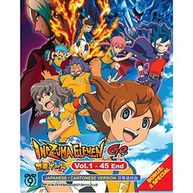 Inazuma Eleven Go! DVD Complete Season Episodes 1-45 including 2 special Episodes.jpg