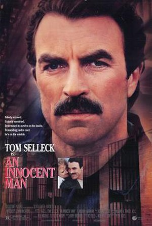 An Innocent Man (film) - Theatrical release poster