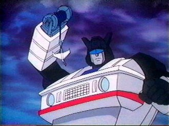 Jazz (Transformers) - Image: Jazz animated