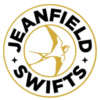 Jeanfield Swifts F.C. - Image: Jeanfield Swifts badge