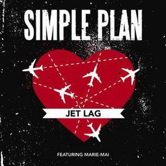 Jet Lag (song) - Image: Jet lag simple plan marie mai