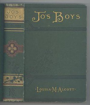 Jo's Boys - Cover and spine, 1887 edition
