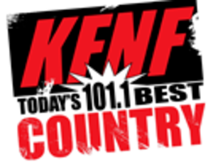 KFNF - Image: KFNF 101.1Today's Best Country logo