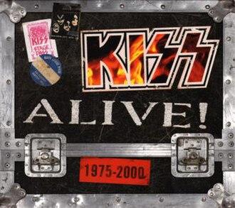 Kiss Alive! 1975–2000 - Image: Kiss Alive! 1975 2000 cover