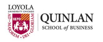Loyola University Chicago Quinlan School of Business - Image: LUC Quinlan lockup