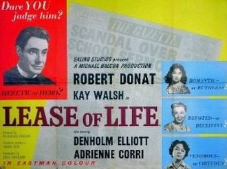 Lease of Life - UK release poster