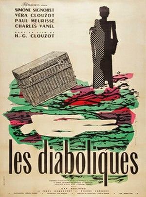 Les Diaboliques (film) - theatrical release poster