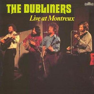 Live at Montreux (The Dubliners album) - Image: Live at Montreux (The Dubliners album) coverart