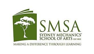 Sydney Mechanics' School of Arts - Image: Logo of the Sydney Mechanics' School of Arts
