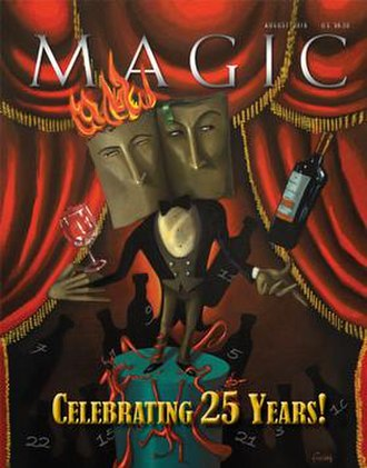 Magic (American magazine) - Cover of August 2016 issue