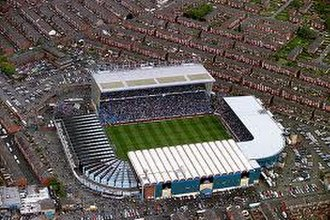 Maine Road - Image: Maine road aerial image