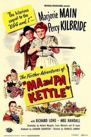 Ma and Pa Kettle (film) - Image: Mand Pa Kettlefilm