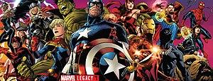Marvel Legacy - Image: Marvel Legacy 1