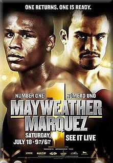 Floyd Mayweather Jr. vs. Juan Manuel Márquez Boxing competition
