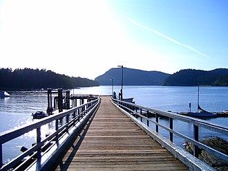 Mayne Island - Miner's Bay Dock
