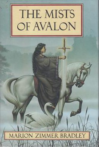 Marion Zimmer Bradley - United States 1st edition cover of The Mists of Avalon (1983).
