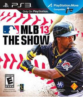 MLB 13: The Show - Image: Mlb 13 the show mccutchen