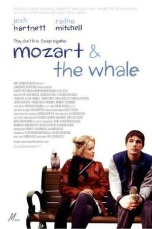 Mozart and the Whale - Theatrical release poster