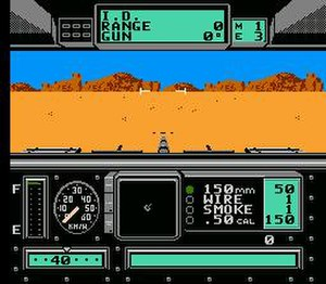 Battle Tank (video game) - Gameplay of Battle Tank