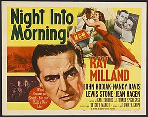 Night into Morning - Theatrical release poster