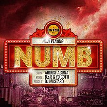 Numb (August Alsina song) - Wikipedia