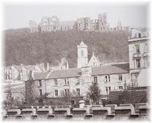 Oban Hydro -  The Hydro pictured from Oban in 1897