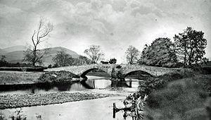 Portinscale - Old Portinscale Bridge, c. 1880