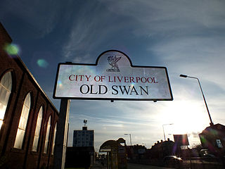 Old Swan District of Liverpool