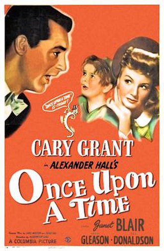 Once Upon a Time (1944 film) - 1944 theatrical poster
