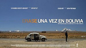 Once Upon a Time in Bolivia - Theatrical release poster