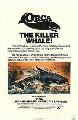 Orca (film) - Theatrical release poster
